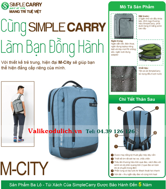 Balo-SimpleCarry-M-city