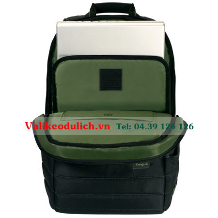 Balo-laptop-Targus-EcoSmart-Emerald-Green-4
