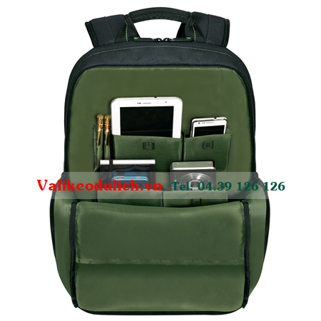 Balo-laptop-Targus-EcoSmart-Emerald-Green-5