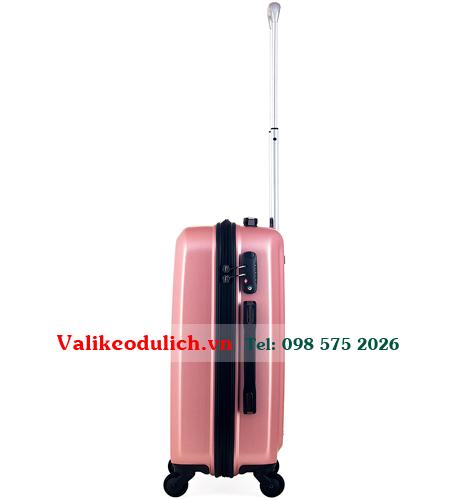 Vali-keo-chinh-hang-Meganine-9009B-20-inch-mau-hong-2