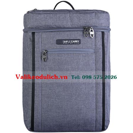 Balo-laptop-SimpleCarry-K9-mau-xam-toi-1