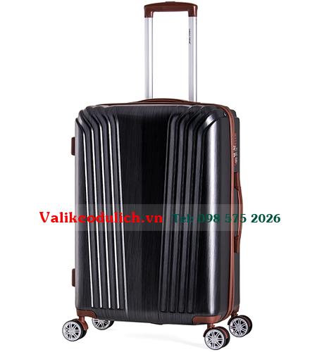 Vali-keo-Meganine-9085B-24-inch-mau-xam-den-1