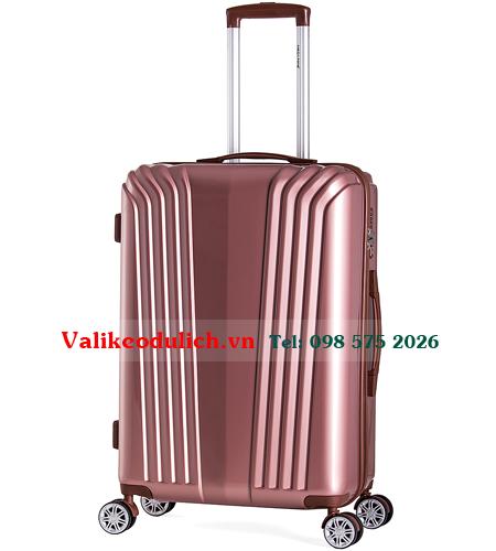 Vali-nhua-Meganine-9085B-24-inch-mau-hong-1