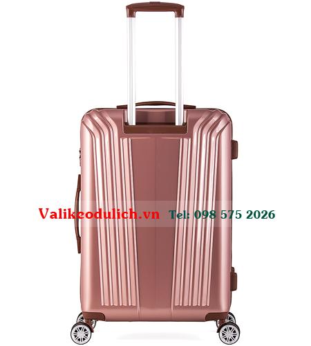 Vali-nhua-Meganine-9085B-24-inch-mau-hong-4