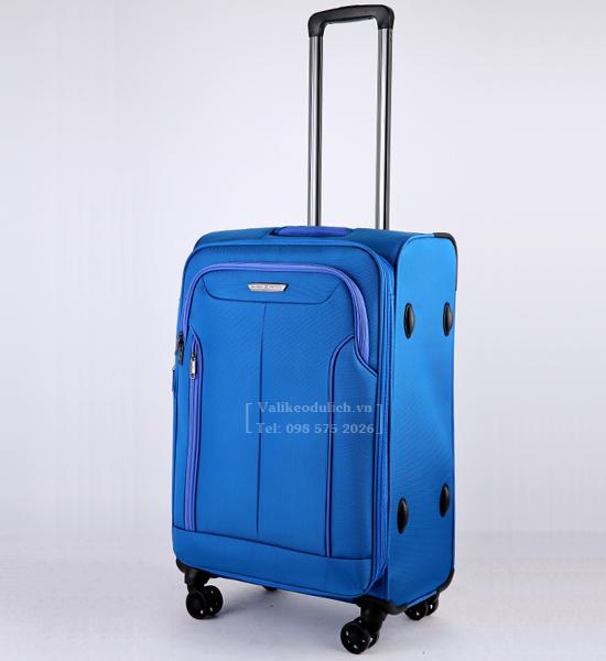 Vali Glossy Diamond GL1801 24 inch mau xanh 3