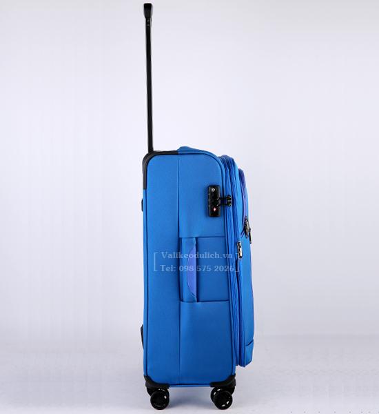 Vali Glossy Diamond GL1801 24 inch mau xanh 4