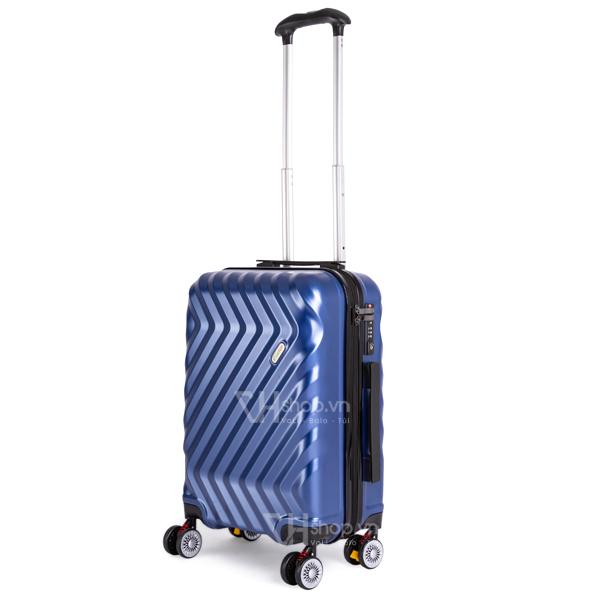 Vali keo Travel King FZ126 20 mau xanh 1