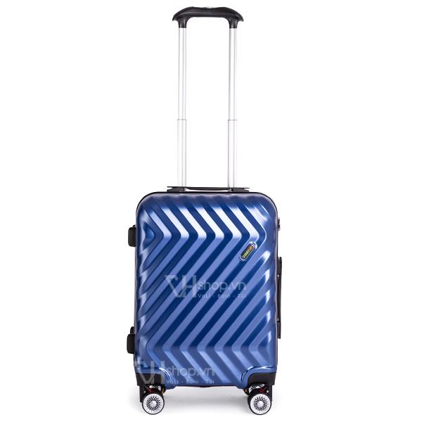 Vali keo Travel King FZ126 20 mau xanh 3