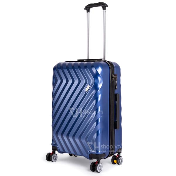 Vali keo Travel King FZ126 24 xanh 1