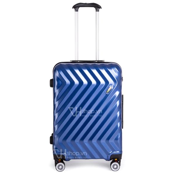 Vali keo Travel King FZ126 24 xanh 3
