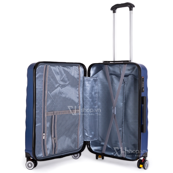 Vali keo Travel King FZ126 24 xanh 6